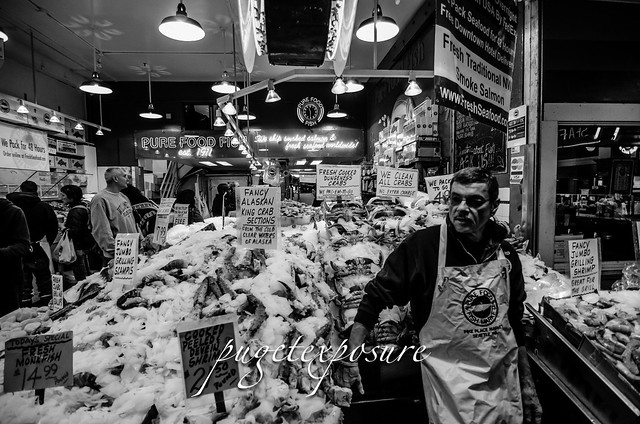 Fish Monger - Pike Place