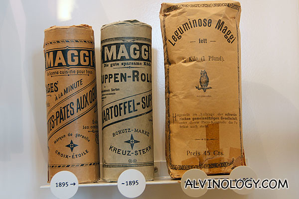 Maggi from the 1890s