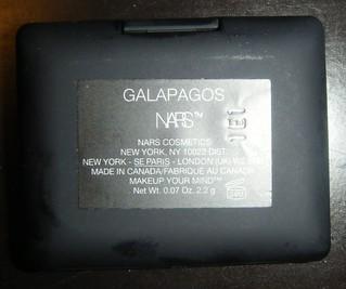 NARS Galapagos Label