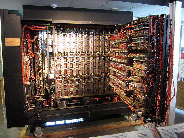 Turing's Bombe machine
