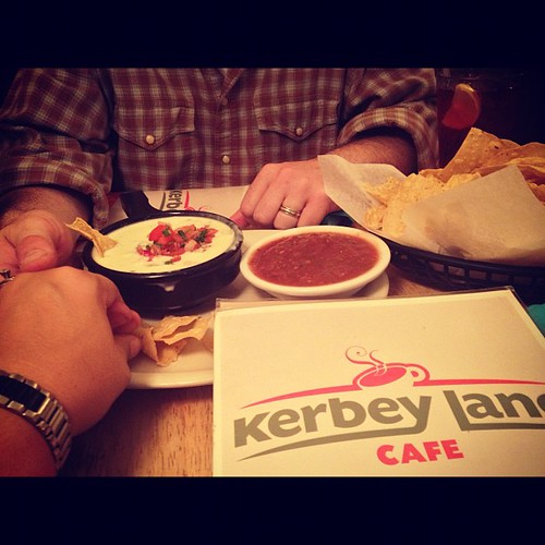 Ending our night with #kerbeyqueso #kerbeylane #austin
