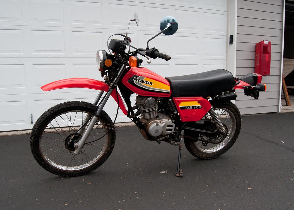 1979 honda xl185s 282 original miles portland or for Honda portland oregon