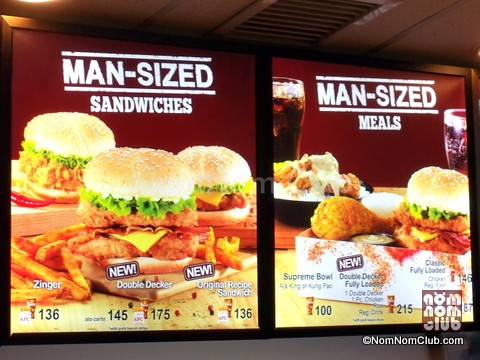Man-Sized Meals & Sandwiches