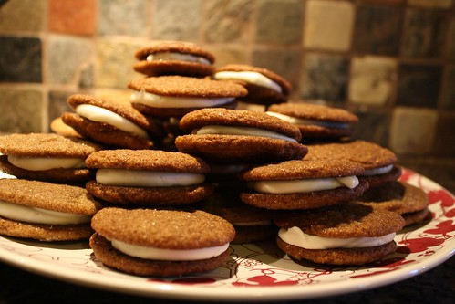 ginger lemon cookies by Rakka