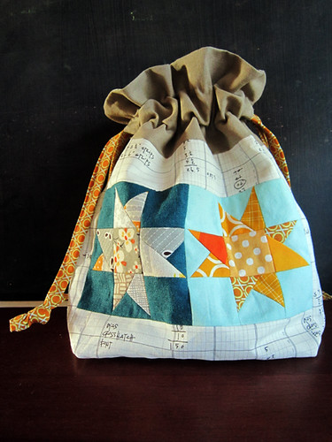 Scrappy Star pouch