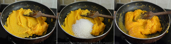 How to make Rava Kesari - Step3