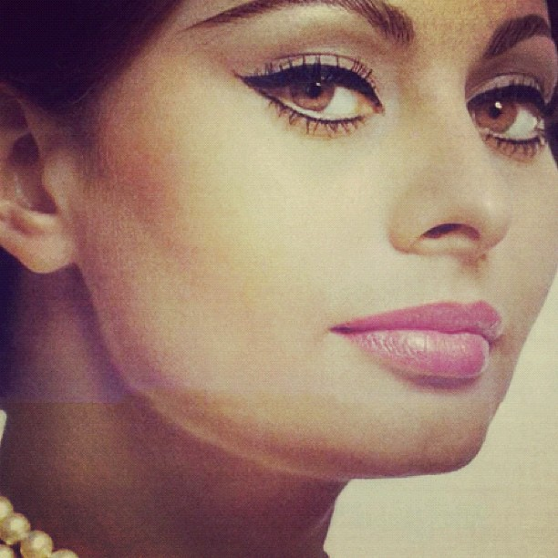 Sophia Loren #inspiration # makeup #70s #eyeliner #italianu2026 : Flickr ...