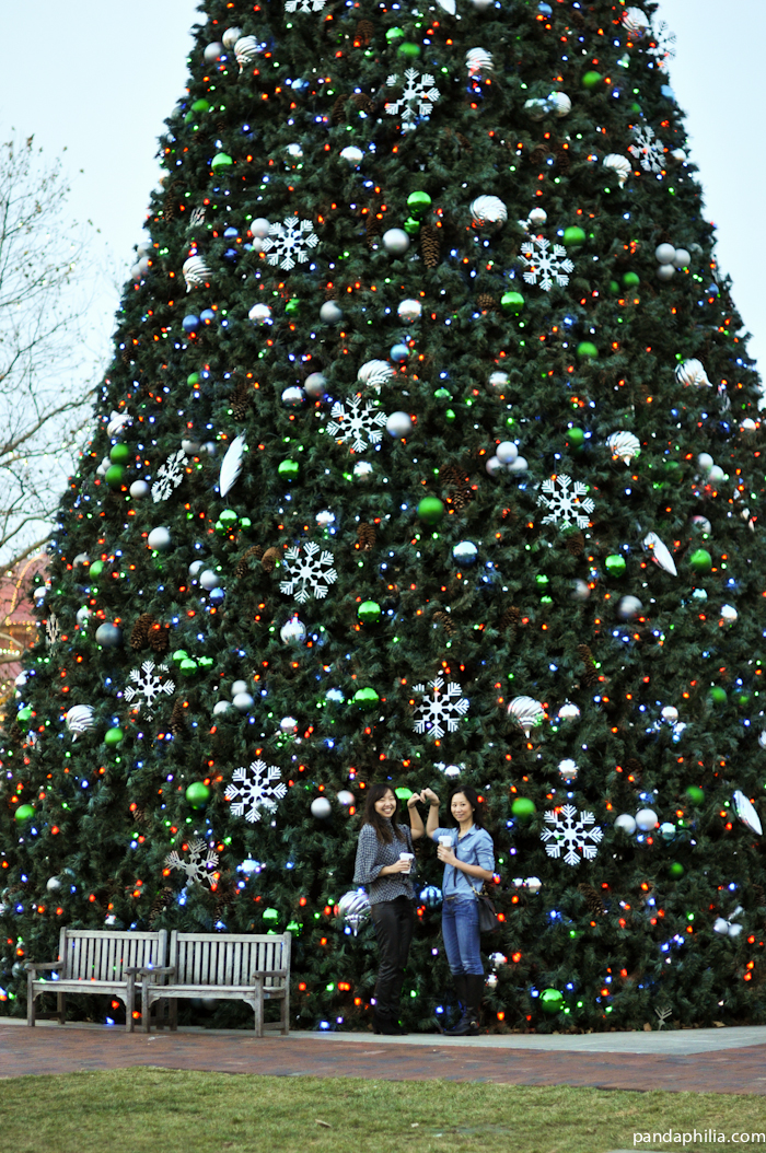 ginormous christmas tree