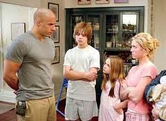 Vin Diesel stares at his child charges. They look unimpressed.