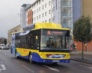 Anglianbus MAN EcoCity 603 WX62HHF (c) David Bell