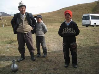 People in Kyrguistan