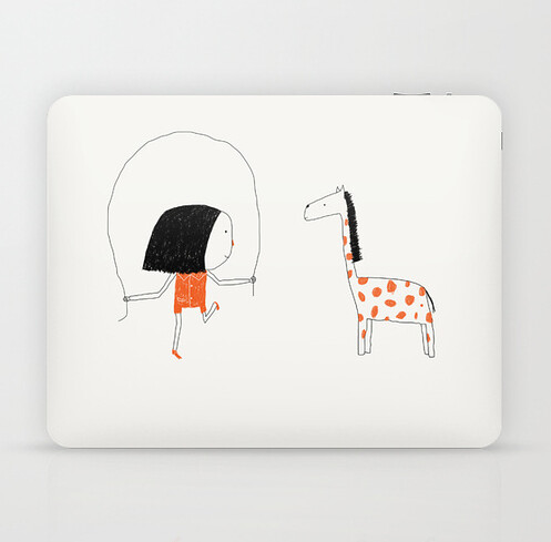 Ipad skin by Yaelfran