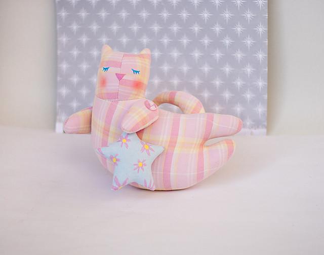 Pastel tilda cat