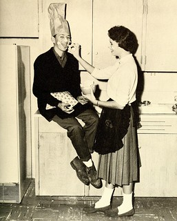 Wittiest, Senior Superlatives, Davie County High School, Mocksville, NC, 1961