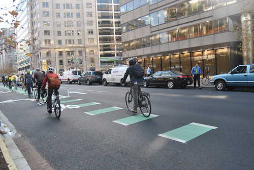 L Street Protected Bike Lane Ribbon Cutting
