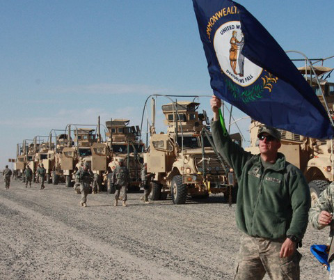 Last convoy out of Iraq