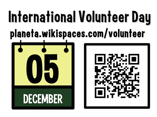 December 5 is International Volunteer Day