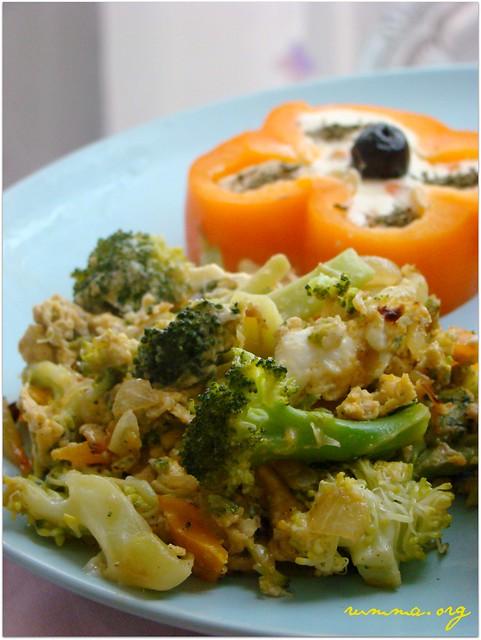 yumurtalı brokoli tarifi