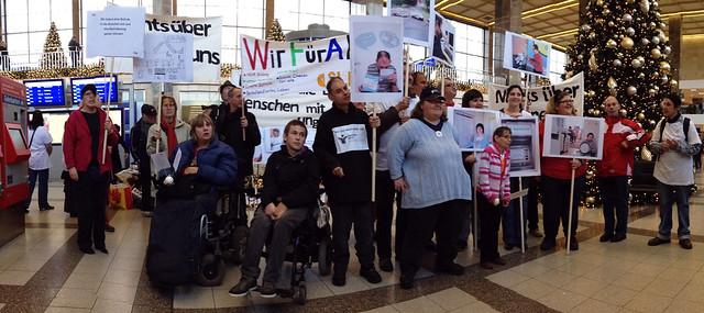Demo am 3.12 am Westbahnhof