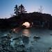 Hollow Rock Sunrise by Bryan Hansel