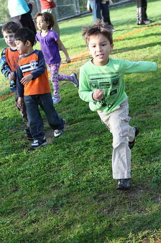 Finn runs!