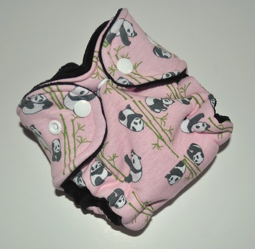 Bumstoppers Newborn Patsy Panda Hybird Fitted **New Style**