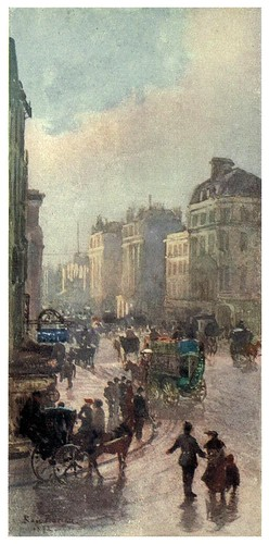 005-Oxford street esquina con Bond street-Familiar London (1904)-Rose Barton