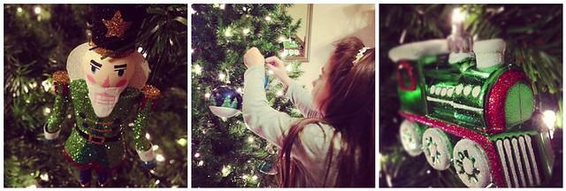 Emma Decorating the Tree