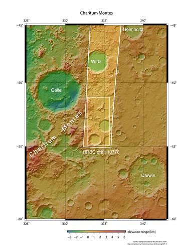 Marte Charitum Montes