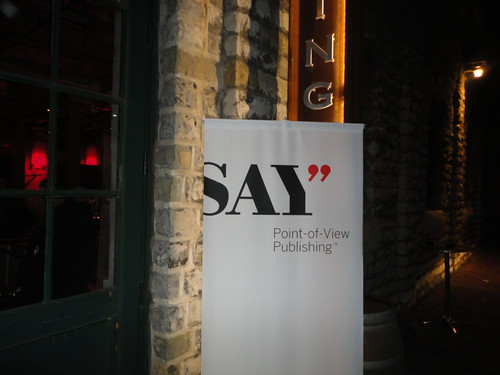SAY Media Party, Dec 6, 2012, in the Fermenting Cellar, in the Distillery District