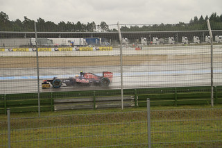 Toro Rosso in the wet