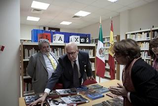 """Se inaugura el """"Fondo México"""" en la Biblioteca del Instituto Cervantes de Beirut"""