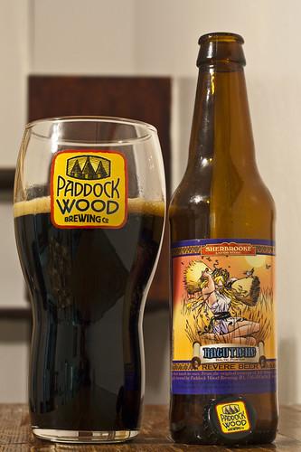 Paddock Wood's Ragutiene Baltic Porter Revere Beer (Sherbrooke Series) 7/24 by Cody La Bière