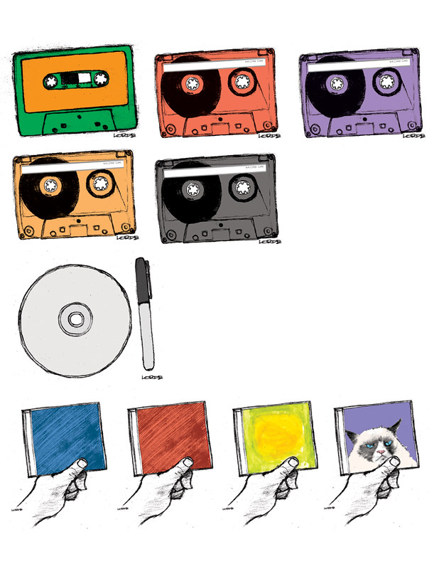 Manitoban Mixtape Illustrations