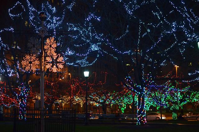Cleveland Public Square Lights