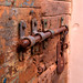 Closeup Rusty Lock Venice by Wozzawozza