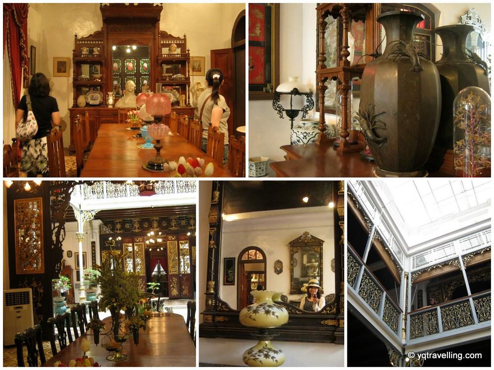 Pinang Peranakan Museum's interior