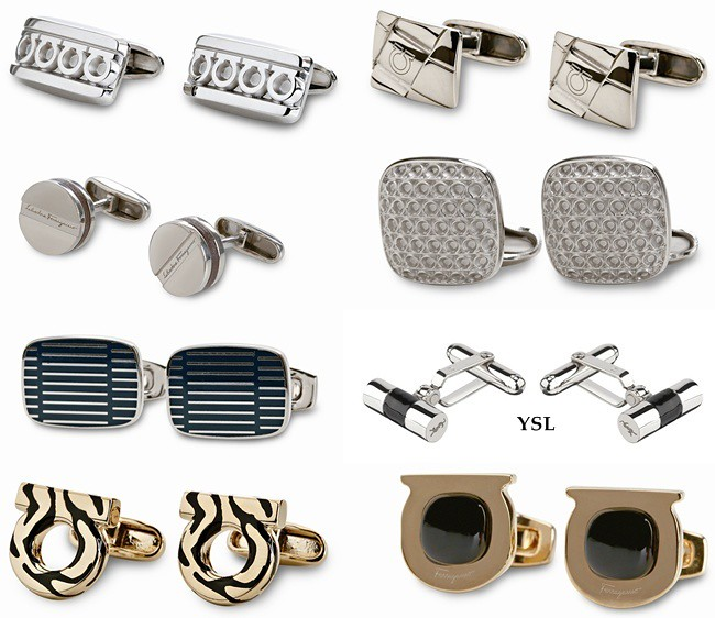8 cuff links
