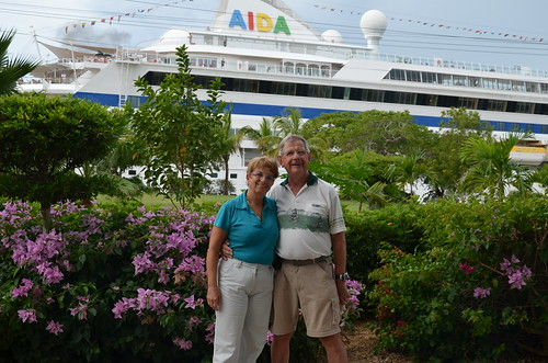 AIDAvita and us happy passengers by Ginas Pics
