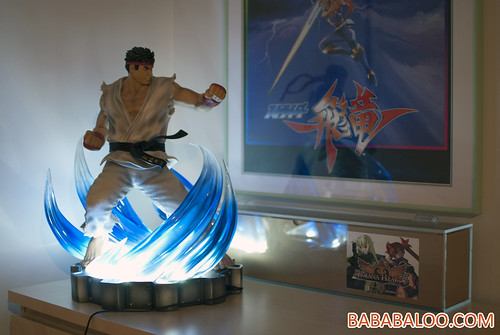 Ryu 10th Anniversary Celebration Statue 6