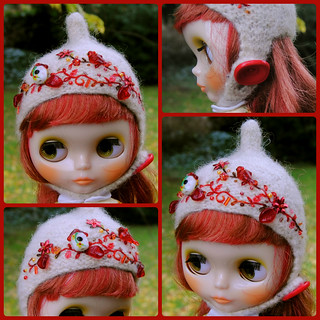 The Folklore Tonttu Helmet: Winter Cardinal