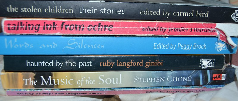 A spine poem for the local library