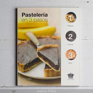 Pastelería en tres pasos