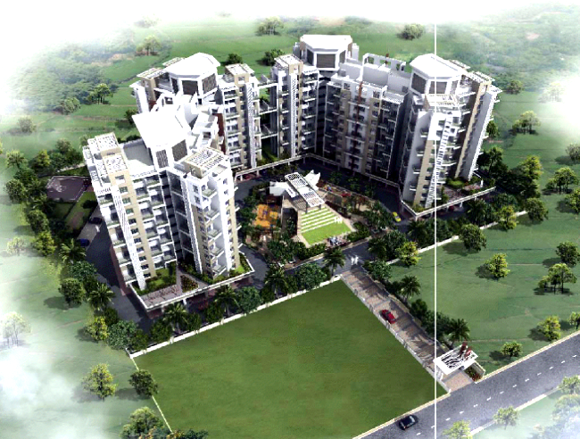 Elevation Layout - 33 KeshavKunj, 2 BHK 2.5 BHK & 3 BHK Flats, near Orbis School, at Keshav-Nagar, Mundhwa, Pune 36