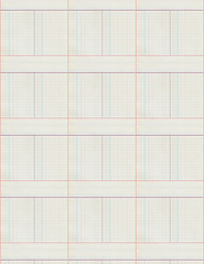 8d DARK antique ledger paper SMALL SCALE - standard or letter size 350dpi