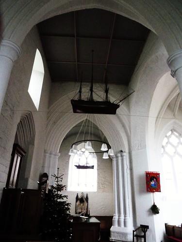 Inside St. Monans Church, Scotland