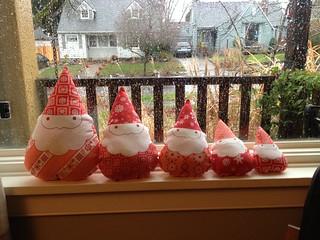 Xmas gnomes 2012