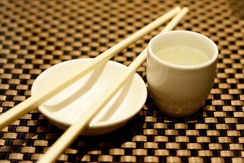 Chopsticks and Warm Sake