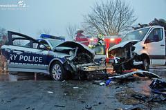 Schwerer Verkehrsunfall New-York-Str./B455 15.12.12