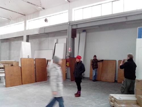 """Pre-installazione """"Neo Noctilucent"""" by Ylbert Durishti"""